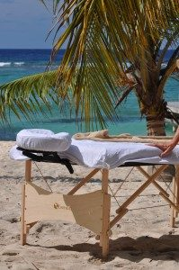 Beach Massage in Grand Cayman, Cayman Islands