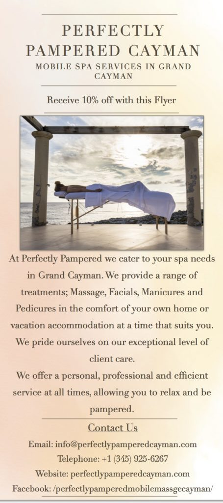 Perfectly Pampered Mobile Massage Cayman and Spa