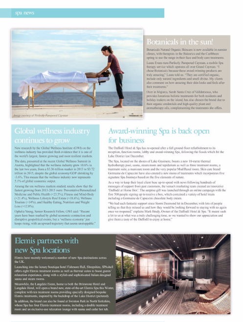 Perfectly Pampered Cayman features Guild News Magazine