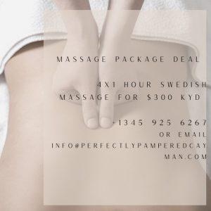 Swedish Massage Package   Grand Cayman